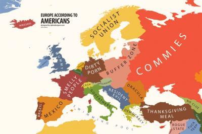 Europa segun los norteamericanos