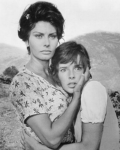 Sophia Loren en Dos mujeres