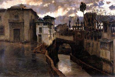 Chubasco en Granada