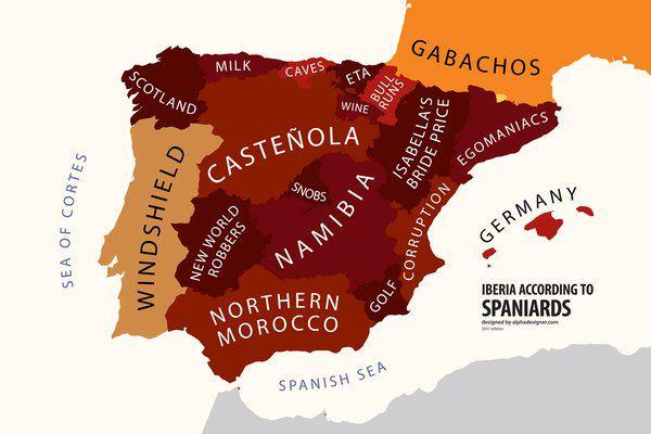 Iberia según los españoles