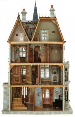 Casa de mulñecas Vanderbilt 1883