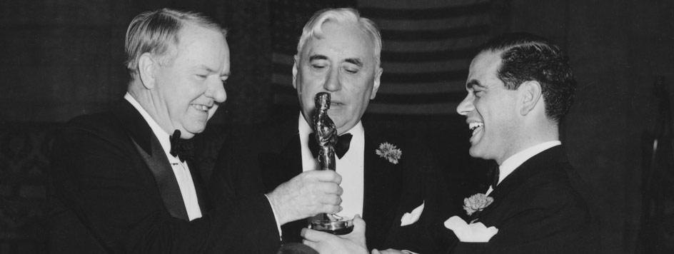 W.C.Fields,Mack Senett y Frank Borzage