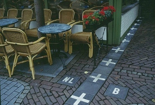 Frontera Bélgica y Holanda