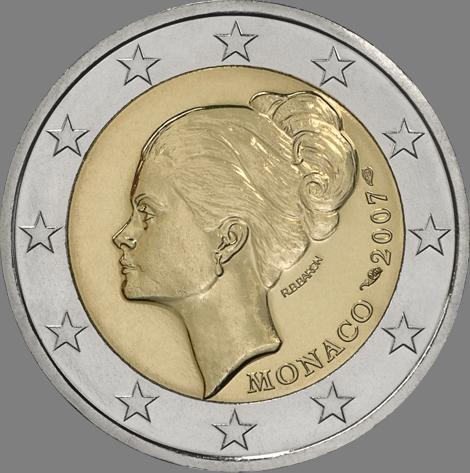 Moneda Grace Kelly